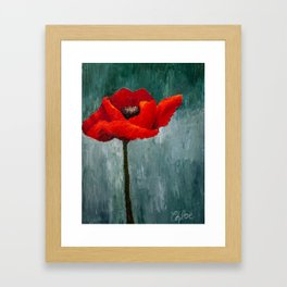 Remembrance Framed Art Print