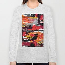 Mid-century Fabric Pattern #106 Long Sleeve T-shirt