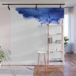 Blue spot Wall Mural