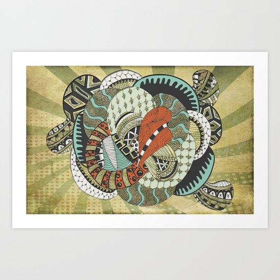 Petal Art Print