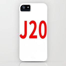 J20 iPhone Case