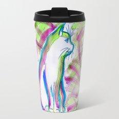 Cat of Color Travel Mug