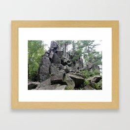 Western Edge of Gaia Framed Art Print