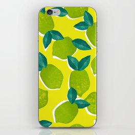 Limes for daysss iPhone Skin