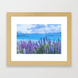Serene Scenery Framed Art Print