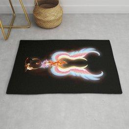 Flaming Phoenix Rug