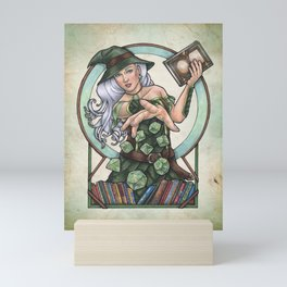 Role Playing Witch by Bobbie Berendson W Mini Art Print