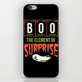 Boo Surprise iPhone Skin