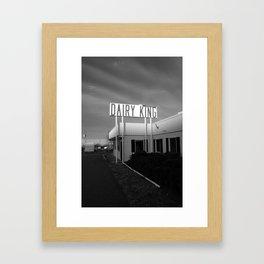 past forgotten Framed Art Print