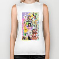 90s Biker Tanks featuring 90s, childhood. by eriicms