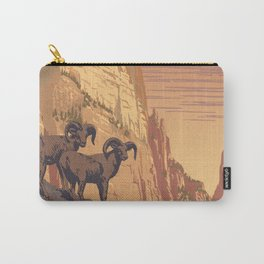 Zion National Park Dawn Carry-All Pouch