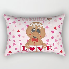 My Sweet Valentine Boy Rectangular Pillow