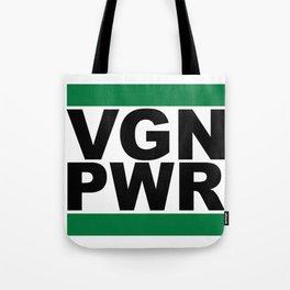 Vegan Power Tote Bag
