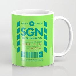 Baggage Tag D - SGN Ho Chi Minh City Vietnam Coffee Mug