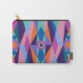 Sacred Geometric Triad Carry-All Pouch