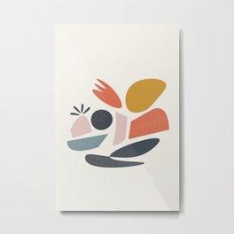 Colourful Desert Metal Print