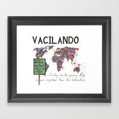 Vacilando Framed Art Print