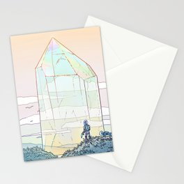 Giant Crystal 2 Stationery Cards