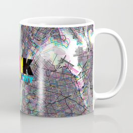 NYC CMYK Slogan Coffee Mug