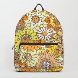 Thrifted Linen Goldenrod Backpack