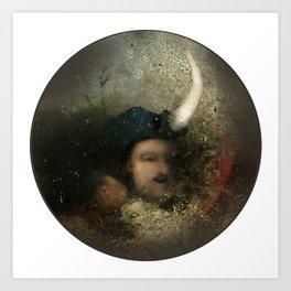 new moon revolution Art Print