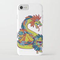 mexican iPhone & iPod Cases featuring Mexican Gods by Andrea ED