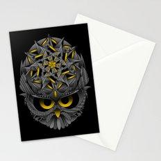 Owl Mandala Stationery Cards