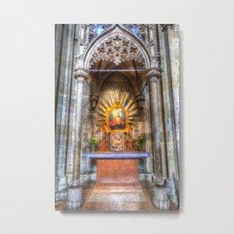 Saint Padre Pio St Stephens Cathedral Vienna Metal Print