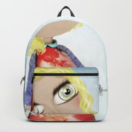 Kids Illustration Sky Stars Doll - Australia Home Decor - Clothing - Ruth Fitta-Schulz Art 2018 Backpack