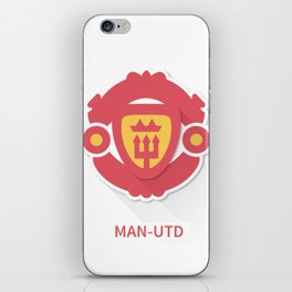 Manchester United Smooth Design iPhone Skin