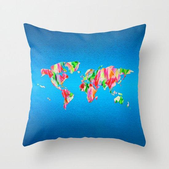 Tulip World #119 Throw Pillow