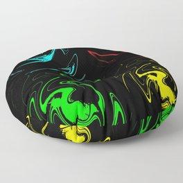 Abstract Perfection 41 Pop Art Floor Pillow