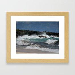 Why, Shore! Framed Art Print