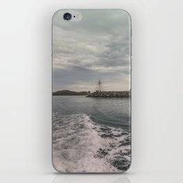 Boat trip in Howth, Ireland iPhone Skin