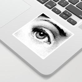Lina Cavalieri Eye 01 Sticker