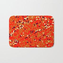 dots on red Bath Mat