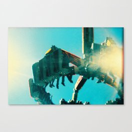 Oaks Park - Holga Series Canvas Print