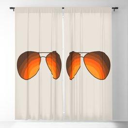 Golden Shades Blackout Curtain