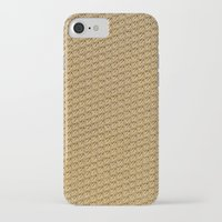 fabric iPhone & iPod Cases featuring Fabric by Kris alan apparel
