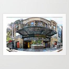Sunshine Theater Art Print