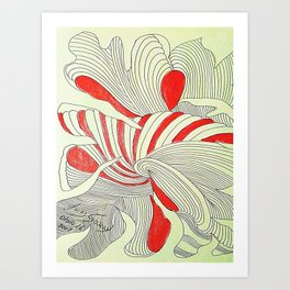 OTOÑO 16 Art Print