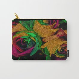 Funky Roses IV Carry-All Pouch