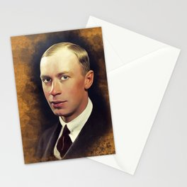 Sergei Prokofiev, Music Legend Stationery Cards