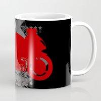 racing Mugs featuring Racing by Ezgi Kaya