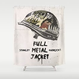 Full metal Jacket alternative Shower Curtain