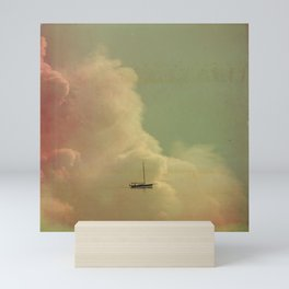 Once Upon a Time a Little Boat Mini Art Print