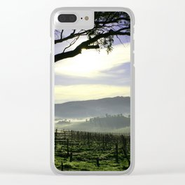 Barossa Sunrise Landscape Clear iPhone Case