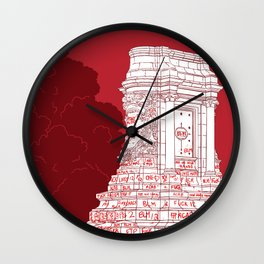 Rise Up - General Robert E. Lee Statue - BLM - RVA Wall Clock
