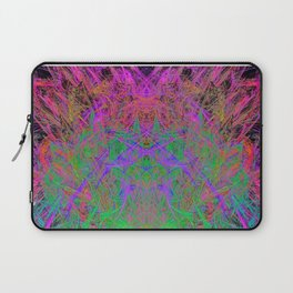 Witch Doctor Fire (psychedelic, ultraviolet) Laptop Sleeve