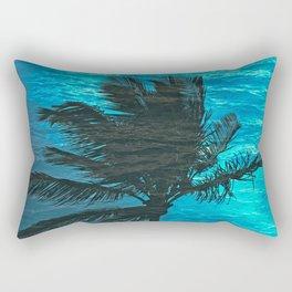 SWIMMING PALM Rectangular Pillow